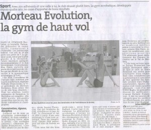 2015 04 07 : La gym de haut vol